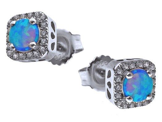 up stud earrings plating gg on in fire to off opal rose latest goods crown deals gold groupon