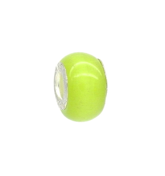 Green Cat S Eye Bead