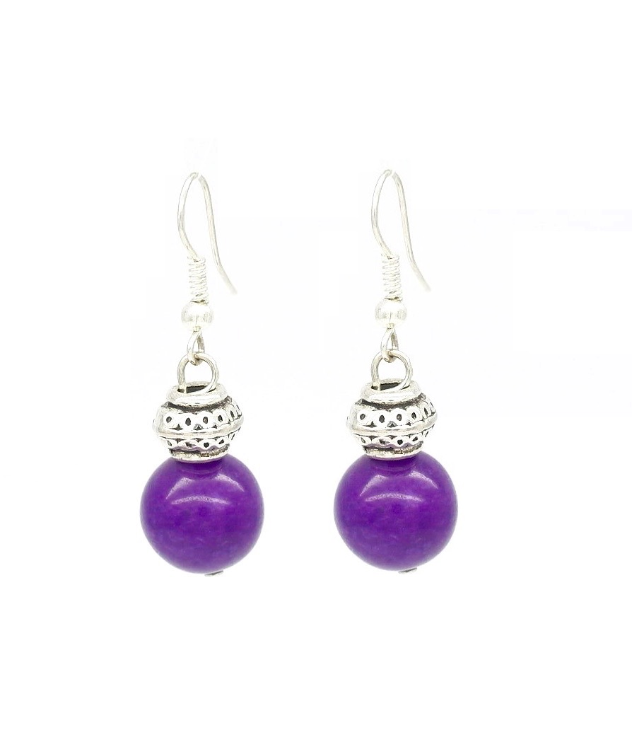 in stone earrings sh alice cicolini lotus amethyst