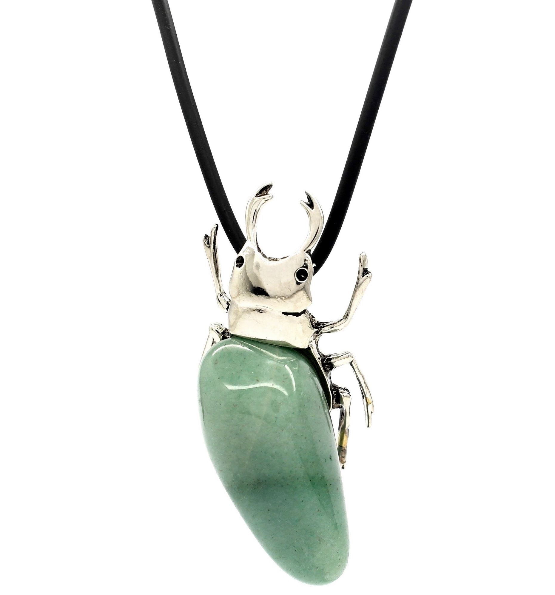 Egyptian scarab beetle pewter aventurine stone pendant necklace egyptian scarab beetle pewter aventurine stone pendant necklace unique statement jewellery large aloadofball Choice Image